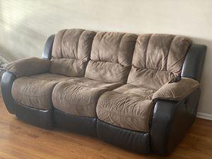Power reclining sofa for Sale in Corona, CA