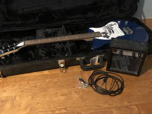 First Act Electric Guitar With Amplifier And Hardshell Case for Sale in Antioch, IL