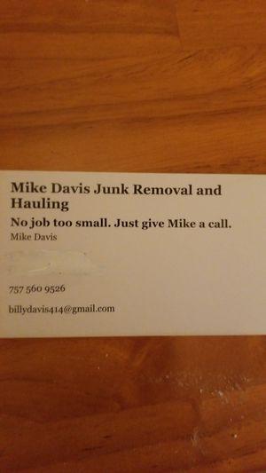 Junk and debris Removal for Sale in Norfolk, VA