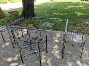 Pier One table and chairs!! for Sale in Fort Worth, TX