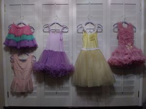 Little Girls Dress Up Costumes. $5 takes all for Sale in Dallas, TX