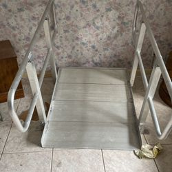 Adjustable Aluminum Wheel Chair Ramp for Sale in Palm City,  FL