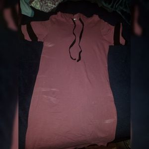 Pink and black Hoodie dress for Sale in Vernon, CA
