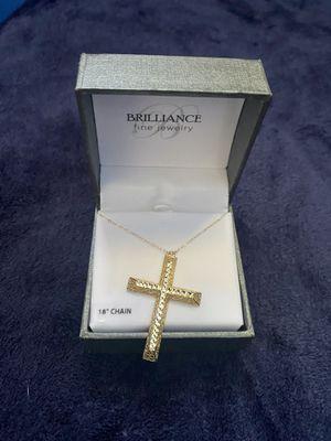 Gold necklace for Sale in Hemet, CA