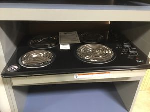 """New! Whirlpool Electric Coil Top 30"""" Cooktop for Sale in Chandler, AZ"""