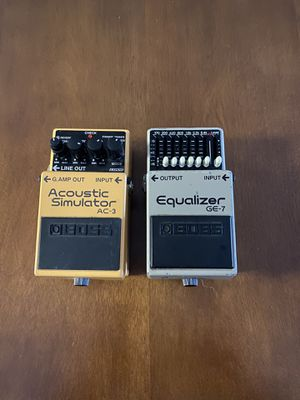 Boss guitar pedals for Sale in San Diego, CA