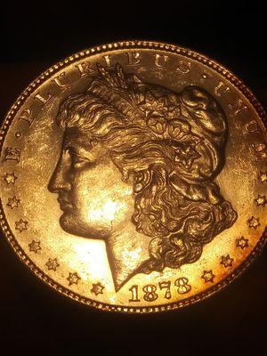 Choice AU 1878s Morgan silver Dollar, First Morgan dollar for Sale in Denver, CO