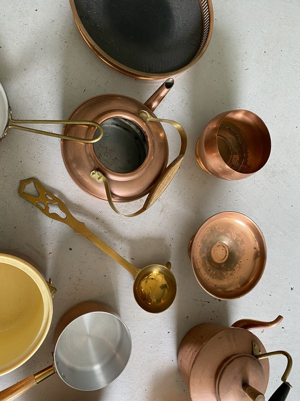 Copper Lover's Dream Cooking Set