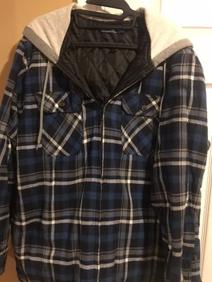 Unisex plaid hoodie jacket for Sale in Boston, MA