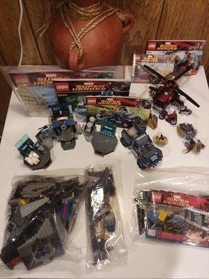 Lego Avengers/Marvel lot Quinjet Helicarrier etc for Sale in Thornton, CO