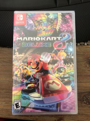 Mario Kart 8 Deluxe Game Nintendo Switch for Sale in La Mirada, CA