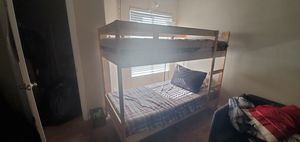 Wood Bunk bed for Sale in Las Vegas, NV
