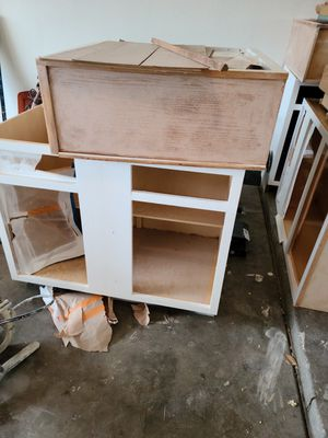 Kitchen cabinets project to paint for Sale in Avondale, AZ