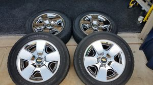 """Chevy 20"""" rims for Sale in Denton, TX"""