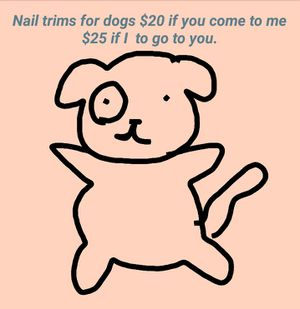 Nail trims for pets for Sale in Oakland, CA