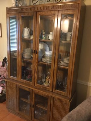 Wooden China Cabinet for Sale in Lawrenceville, GA