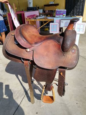 Western saddler for Sale in Los Angeles, CA