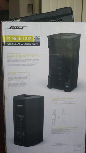 Bose F1 Model 812 1000 Watt Flexible Array Loud Speaker for Sale in Spring, TX