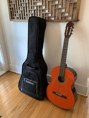 Red Acoustic Guitar & Soft Case for Sale in Miami, FL