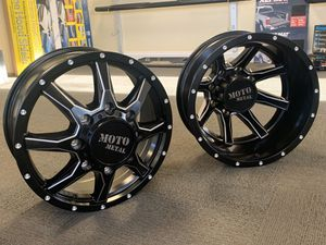 "⭐️Brand New 20"" Moto 995 Black and Milled Dually Wheels⭐️ for Sale in Lilburn, GA"