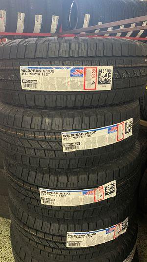 Brand new Falken tires P265-70-16 H/T for Sale in Pomona, CA