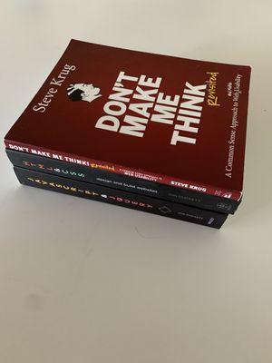 Web designer set of 3 books for Sale in San Carlos, CA