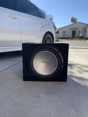 12 inch Kenwood subwoofer for Sale in San Jose, CA