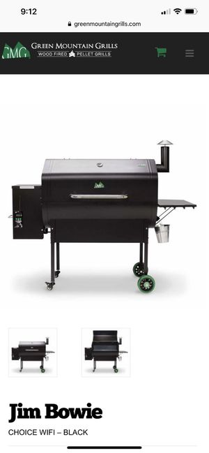 Green Mountain Jim Bowie WiFi Pellet Grill. NEW! This is not a propane or charcoal bbq grill. for Sale in Tamarac, FL