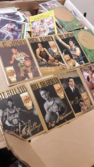 Old basket ball cards for Sale in Arlington, WA