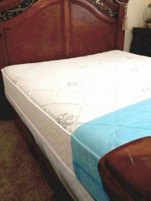 NEW FULL MATTRESS AND BOX SPRING INCLUDED 2 PC SET. BED FRAME IS NOT INCLUDED for Sale in Hialeah, FL