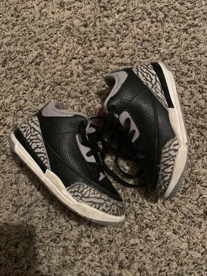 Jordan retro 3 boys 8c for Sale in Largo, FL