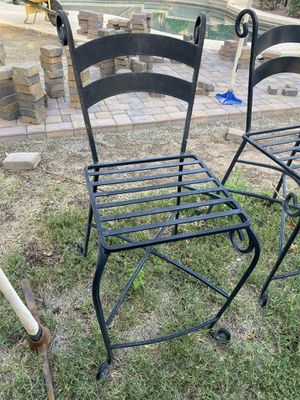 Counter height bar stool-wrought iron for Sale in Queen Creek, AZ