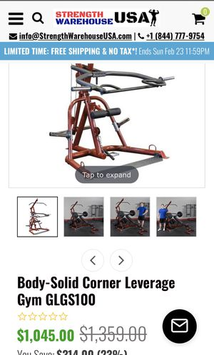 Body solid bench for Sale in Fresno, CA