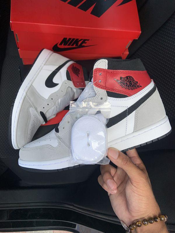 Nike Air jordan 1 smoke grey high size 8 deadstock
