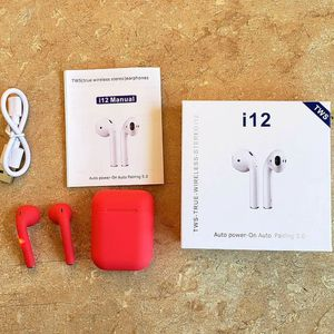 RED i12 TWS bluetooth 5.0 headset wireless touch for Sale in Los Angeles, CA