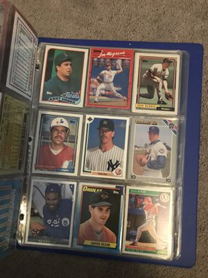Huge baseball card collection (Only about half pictured, PM me for other half) Great condition for Sale in Auburndale, FL