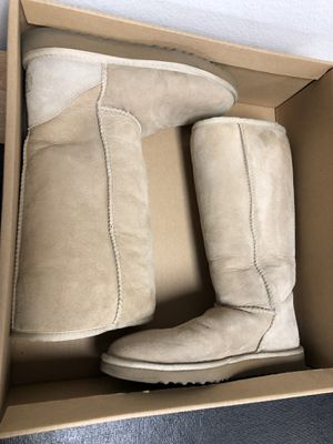 Ugg Classic Tall Boot Sand Color Size 7 for Sale in San Marcos, CA