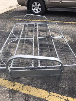 Metal futon bed frame for Sale in St. Charles, IL