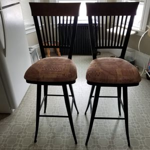 Beautiful pair of stools chairs for Sale in Beverly, MA
