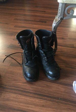 Red wing work boots for Sale in Montebello, CA