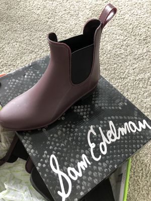 Sam Edelman rain boots, us6 for Sale in Cleveland Heights, OH