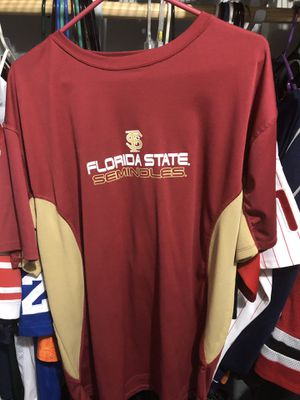 FSU Dry fit shirt and hat combo for Sale in Port Richey, FL