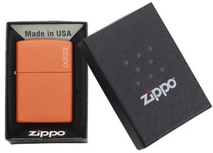 Zippo Orange Matte Logo Windproof Lighter for Sale in Goodlettsville, TN