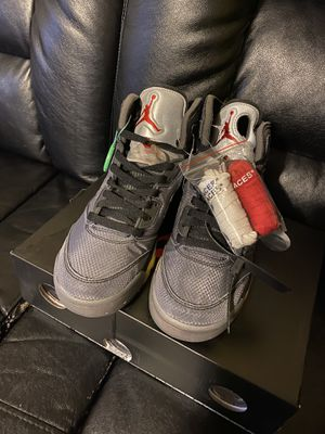 Off white jordan 5 size 10 for Sale in WI, US