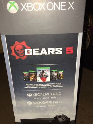 Gears of War 1-5 Limited Edition XBOX ONE for Sale in Avella, PA