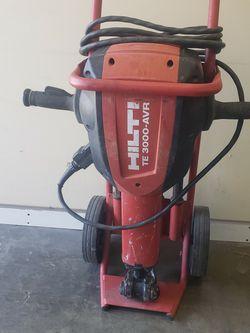 Hilti TE-3000 AVR JackHammer for Sale in Hawthorne,  CA