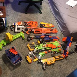 NERF GUNS +2 Off Brands + FREE NERF DARTS for Sale in Molalla,  OR