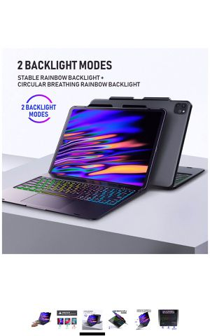 Touchpad Keyboard Compatible with iPad Pro 12.9 /2020 for Sale in Staten Island, NY