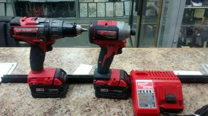 Milwaukee hammer and impact driver set 2704-20 & 2850-20 tools for Sale in New York, NY