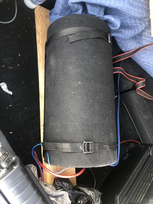 Blue Wave 8 in. 250-Watt Amplified Subwoofer Tube System for Sale in North Las Vegas, NV